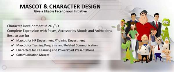Learntech -Mascot and Character Design | Graphics Development - Learn Tech