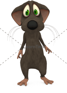 Character Poses – Mouse_Sad_01 | Online Store | LearnTech