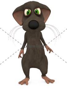 Character Poses – Mouse_Sad_02 | Online Store | LearnTech