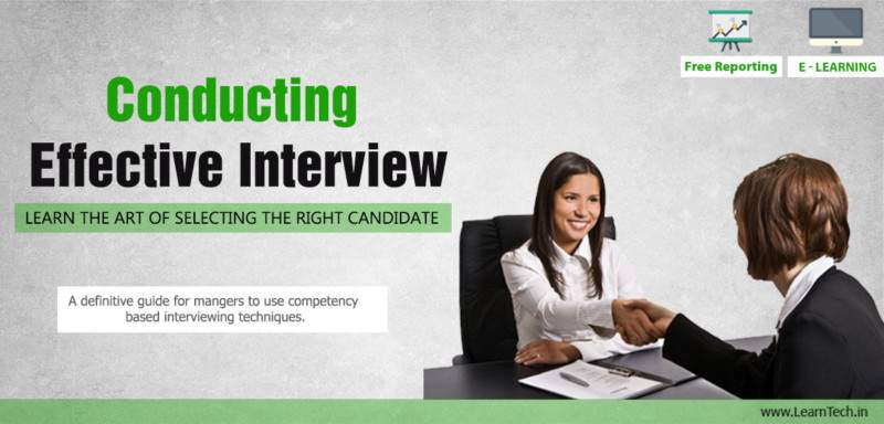 Conducting Effective Interview - Training - E learning