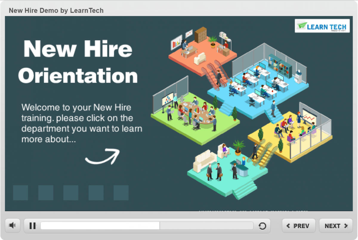New Hire Demo by LearnTech