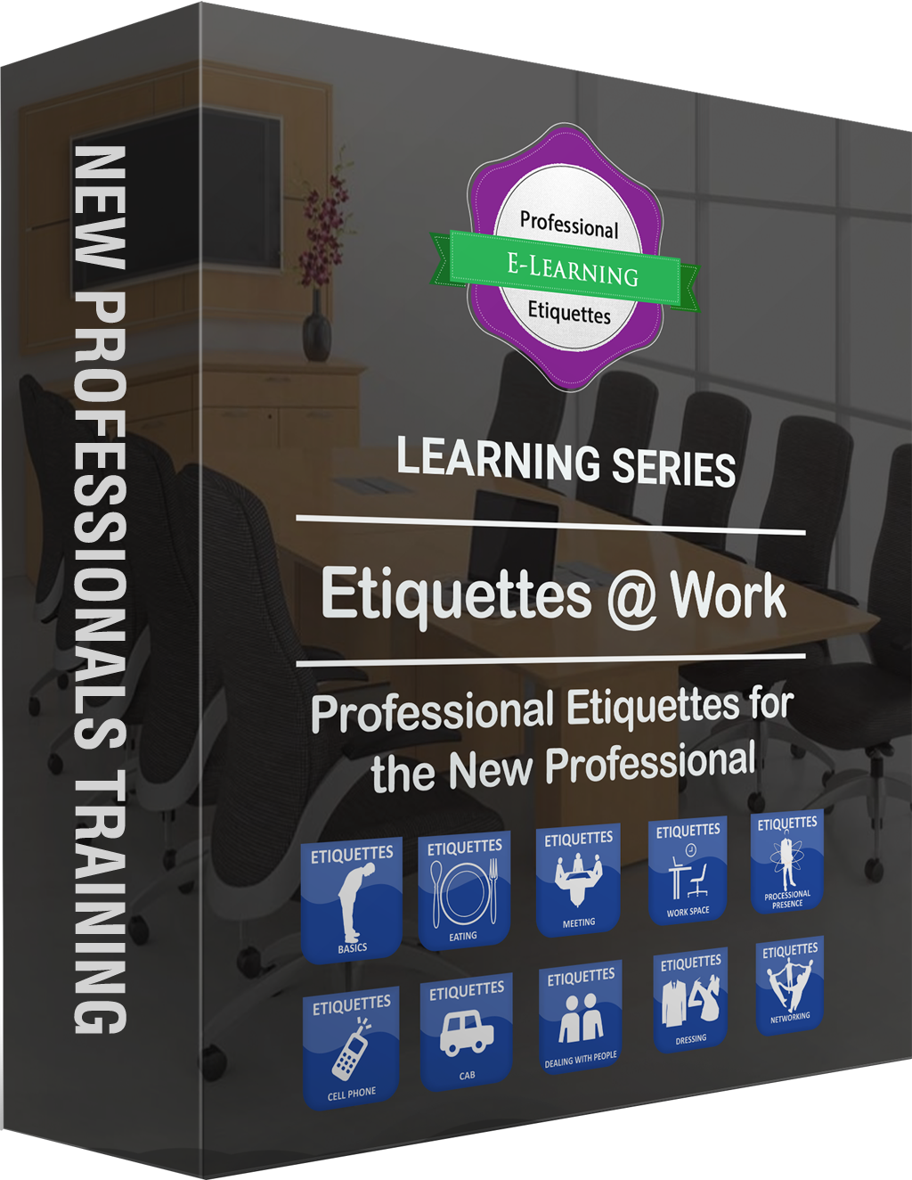 Professional Business Etiquettes Training - off the shelf E learning Course Catalogue