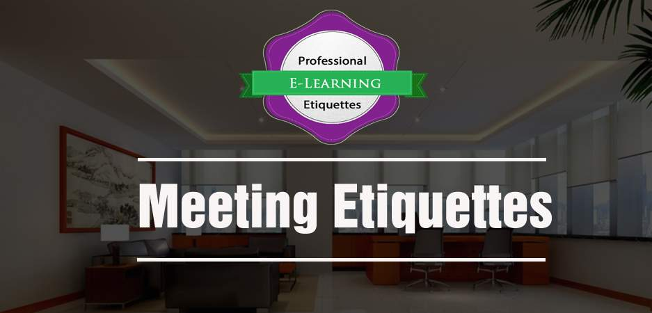 Meeting Etiquettes - Ready to go E learning Content