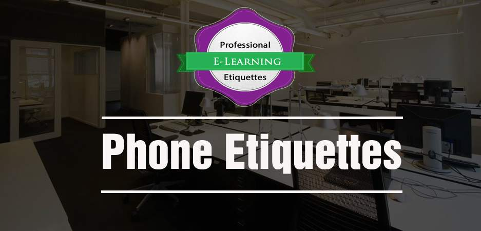 Phone Etiquettes - Business Etiquette Training