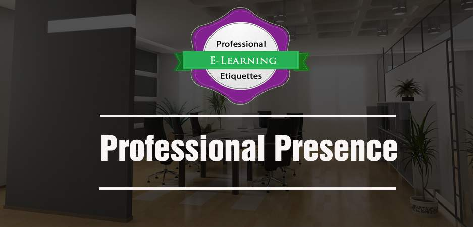 Professional Presence - Etiquette Training - Ready Made online training