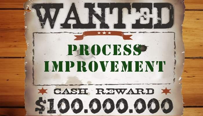 Reward system for process improvement - Process Improvement