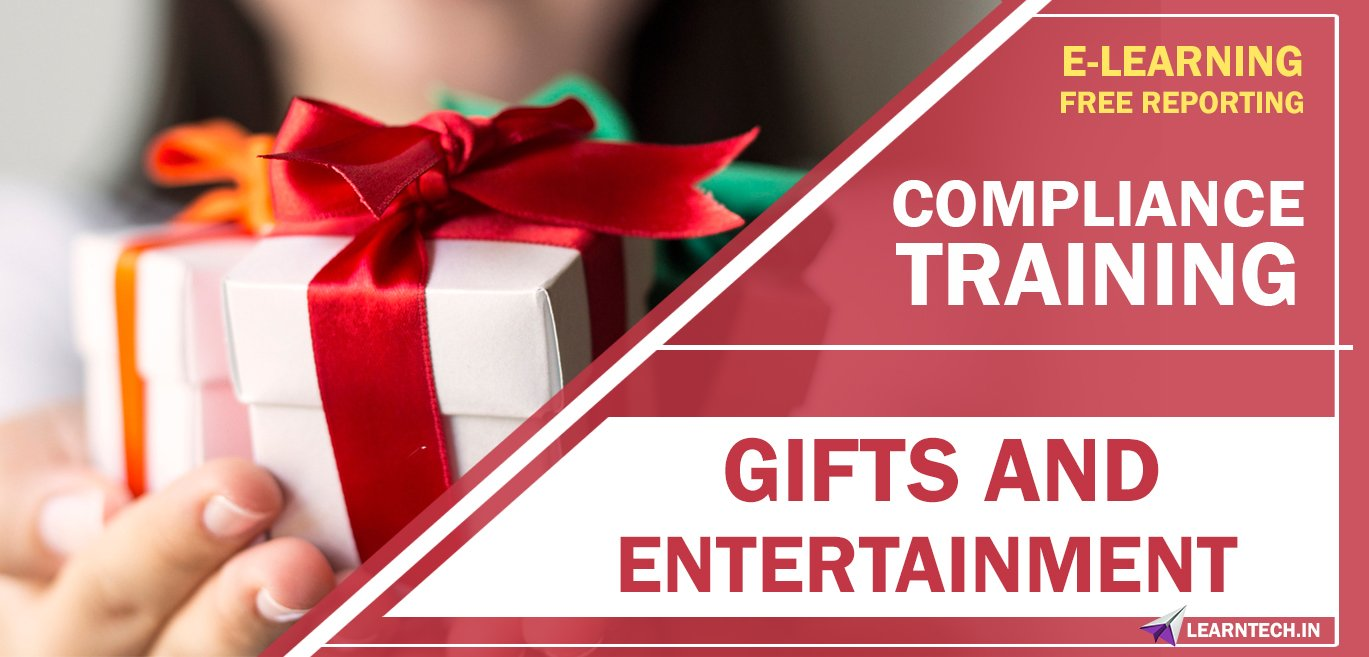 Gifts and Entertainment - Ready to go E learning Content
