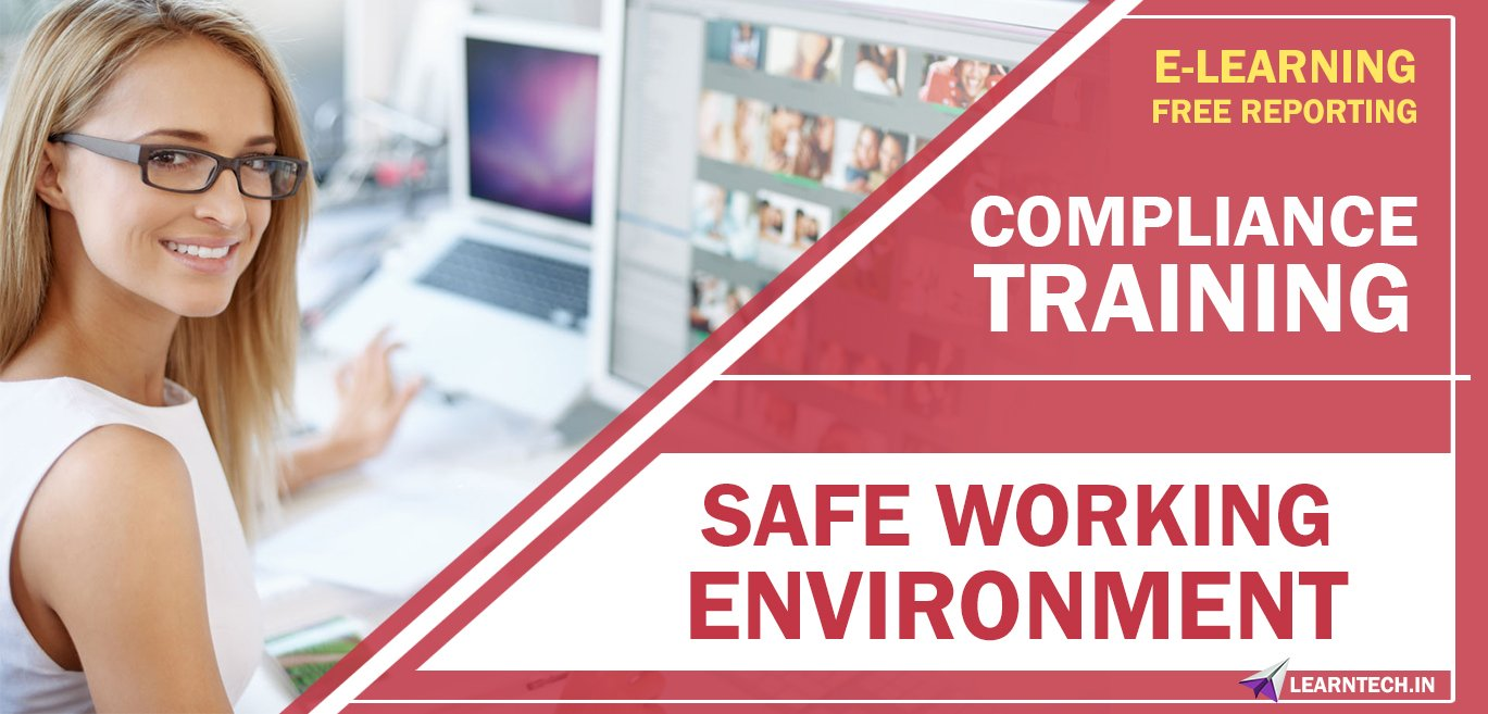 Safe Working Environment - Off the Shelf E learning Online Courses - Compliance training