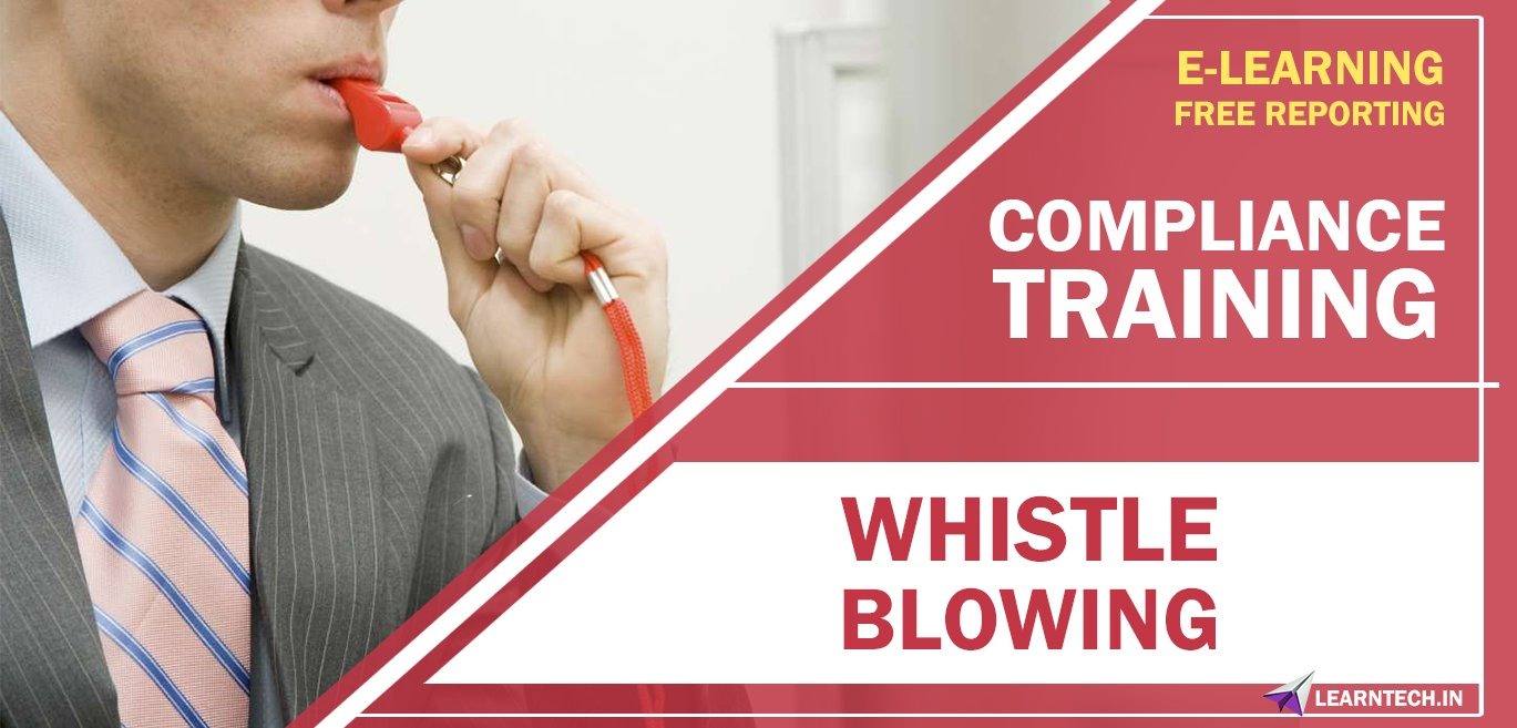 Whistle Blowing - Compliance training - Off the Shelf online training