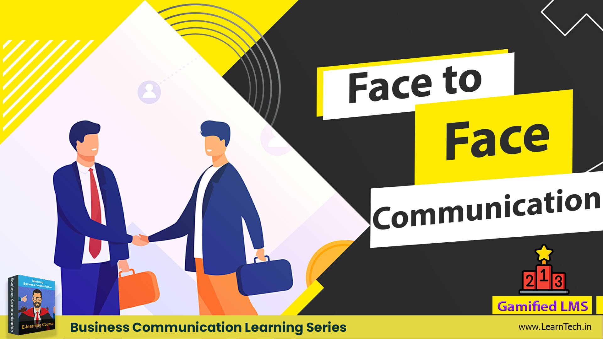 Face to Face Communication – Off the shelf E learning - Business Communication training